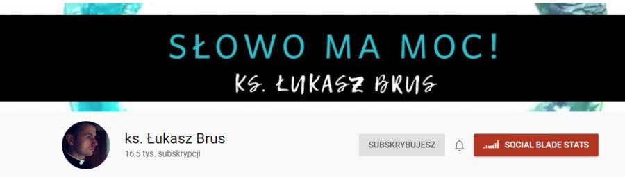 youtube Łukasz Brus