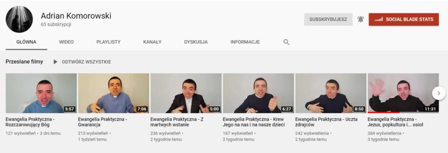 youtube adrian komorowski